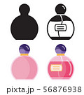Toilet Water in Perfume Bottle Flat Icons 56876938