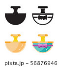 Toilet Water in Perfume Bottle Flat Icons 56876946
