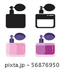 Toilet Water in Perfume Bottle Flat Icons 56876950