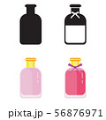 Toilet Water in Perfume Bottle Flat Icons 56876971