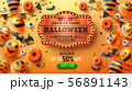 Happy Halloween trick or treat poster 56891143