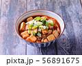 Mapo tofu on rice bowl   56891675