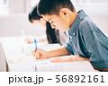 男の子 小学生 勉強 56892161