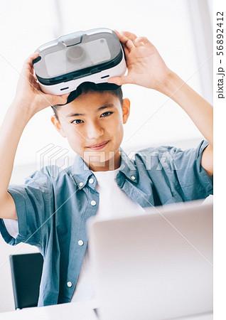 男の子 3D ゴーグル 56892412
