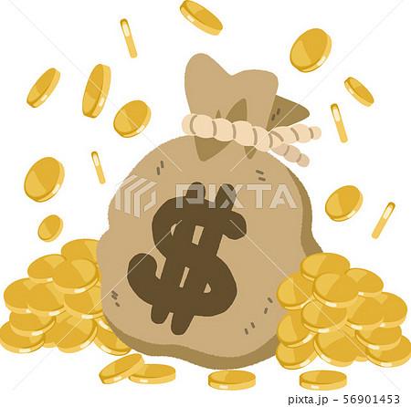 コインのイラスト2 56901453