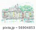 世界遺産の街並・イタリア・チンケッテレ・ポルトベネーレ 56904853