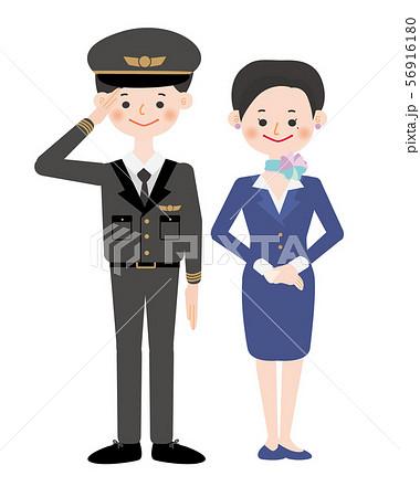 パイロットさん_スチュワーデスさん 56916180