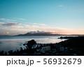 沖縄の夕焼け景色 56932679