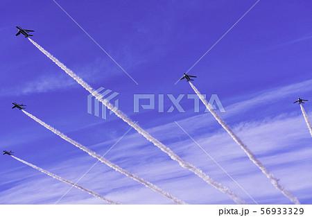 青空・大空・イメージ (ブルーインパルス展示飛行) 56933329