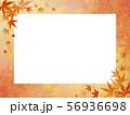 和モダン-紅葉-ホワイトボード-紅葉フレーム 56936698