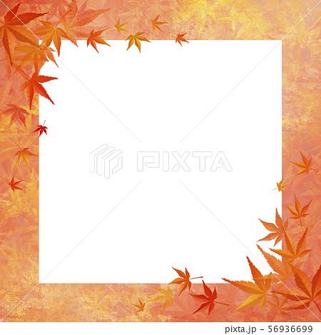 和モダン-紅葉-正方形-ホワイトボード 56936699