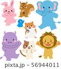 動物 セット01 56944011