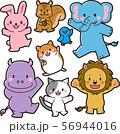 動物 セット02 56944016