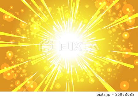 ベクターカラーイラストイメージ背景壁紙,夜空,星空,放射光,星屑,ポスター,無料素材,宇宙,キラキラ 56953638