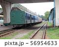 ヤンゴン中央駅の客車列車 ミャンマー 東南アジア 56954633