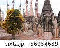 カックー遺跡の仏塔群 ミャンマー 56954639