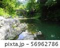 8月 嵐山町11嵐山渓谷と槻川 56962786