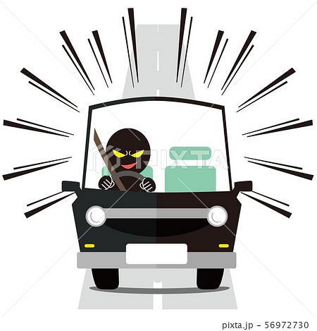 スピード違反 迫ってくる車  56972730