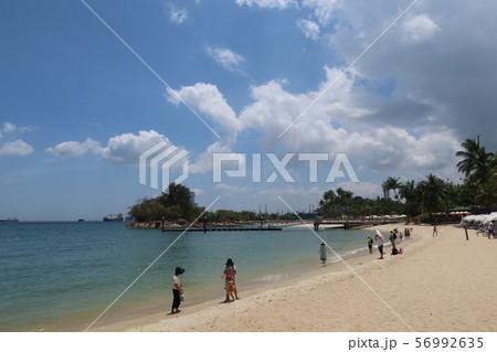 シンガポール・セントーサ島のシロソビーチ 56992635