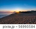 《鳥取県》鳥取砂丘の夜明け 56993584