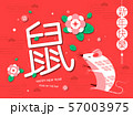 Happy new year, 2020, Chinese new year greetings, 57003975