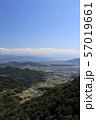 三豊平野を南南西方向に一望する 57019661