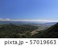 三豊平野を南南西方向に一望する 57019663