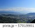 夕方の三豊平野、高瀬町から四国中央市方向を見る 57019901