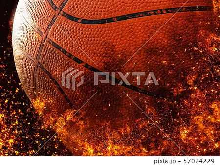 バスケットボールのクローズアップ 57024229