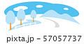 冬の道路 57057737
