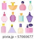 Empty Perfume Toilet Bottles in Flat Design 57060677