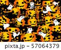 ハロウィン かぼちゃ コウモリ おばけ ポストカード 57064379