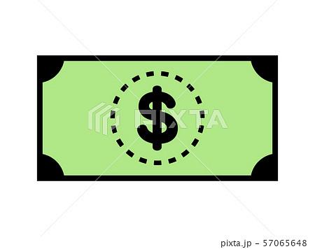 ドルの紙幣 57065648