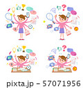 flat type Pink clothing girl_mulch task Office 57071956