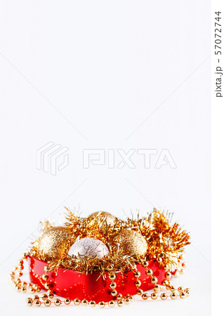 Christmas and New Year decorations in box 57072744