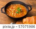 ひよこ豆のスープ  Moroccan chickpea beans soup 57075986