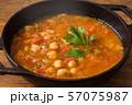 ひよこ豆のスープ  Moroccan chickpea beans soup 57075987