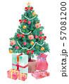 クリスマスツリー・プレゼント 57081200