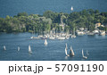 Sailing Regatta Around Central Island Opposite Toronto Canada 57091190