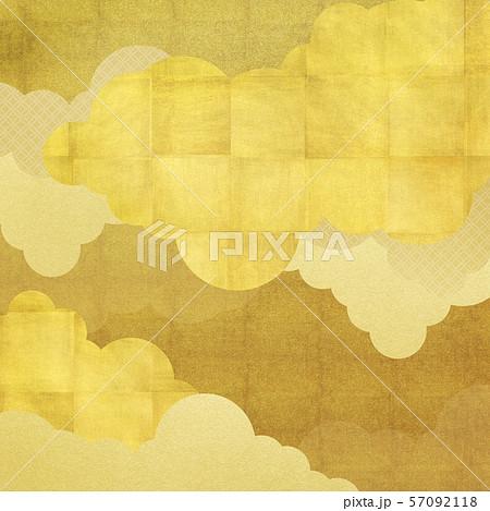 背景-和-和風-和柄-和紙-金箔 57092118