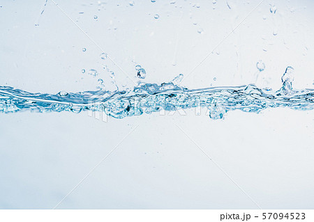 Water splash close up of splash of water forming shape isolated. 57094523