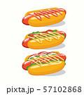 Fast food, Tasty set fast food vector isolated on 57102868