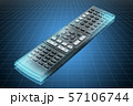Visualization 3d cad model of Remote control 57106744