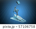 Visualization 3d cad model of Bass Drum Pedal 57106758