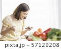 女性 ライフスタイル 料理 57129208