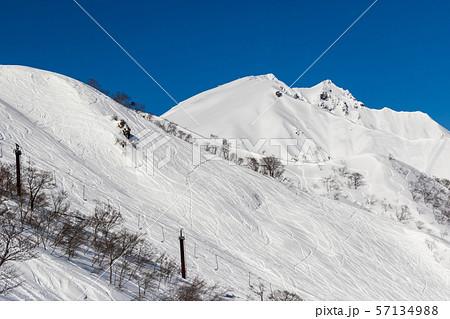 谷川岳 天神平スキー場 57134988