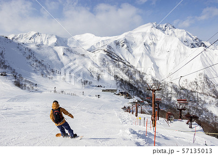 谷川岳 天神平スキー場 57135013