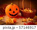 ハロウィン カボチャ お菓子 おもちゃカボチャ ハロウィーンイメージ 57146917