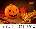 ハロウィン カボチャ お菓子 おもちゃカボチャ ハロウィーンイメージ 57146918