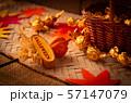 ハロウィーンイメージ ハロウィン お菓子 おもちゃカボチャ 57147079